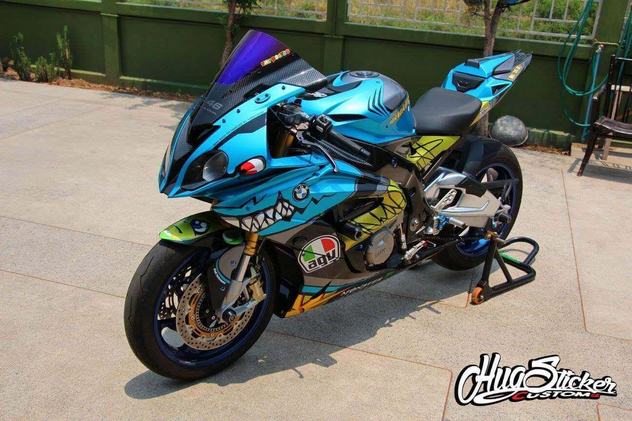 2015 2016 BMW S1000RR Valentino Rossi Shark Bike Fairing 13