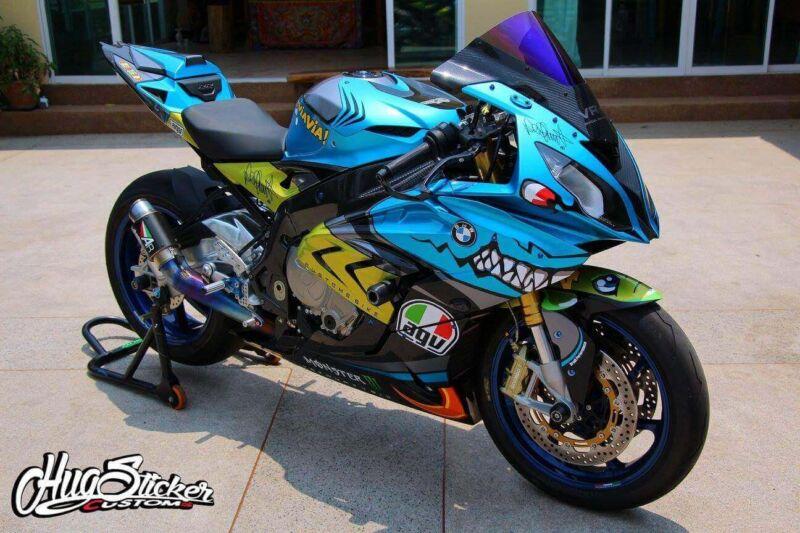 2015 2016 BMW S1000RR Valentino Rossi Shark Bike Fairing 7